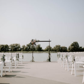 Ceremony-Dock-Megan-Benger-Photography